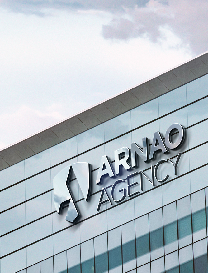Arnao building signage
