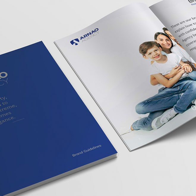 Graphic Design - Arnao Agency - Stationery Brand Guideline