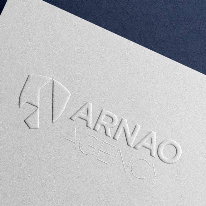 Graphic Design - Arnao Agency - Stationery Emboss