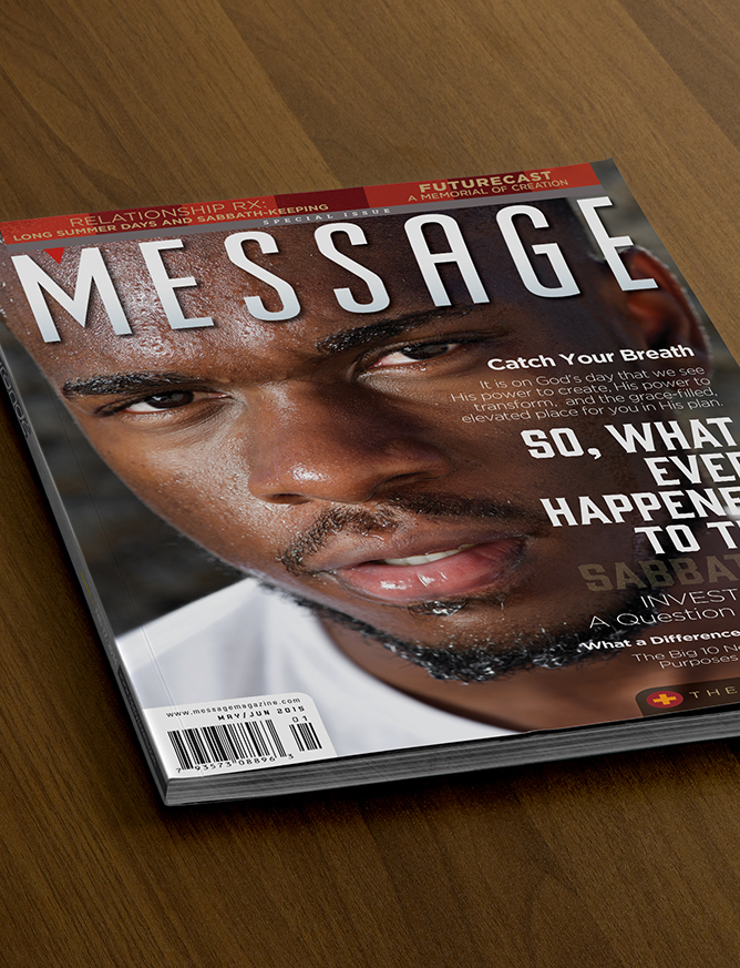 Message Magazine Cover