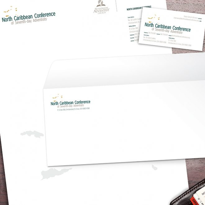 Print Design | North Caribbean Conference Stationery