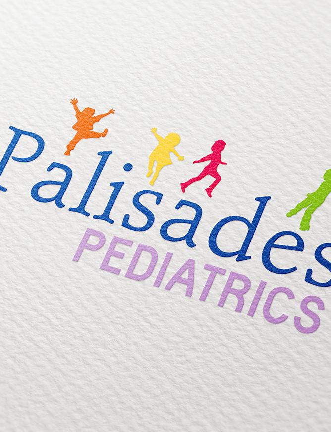 Logo Refresh - Palisades Pediatrics