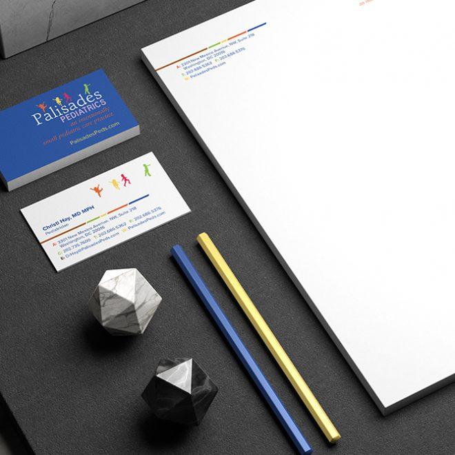 Logo Refresh - Palisades Pediatrics - Stationary