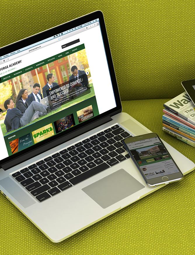 Pine Forge Academy website