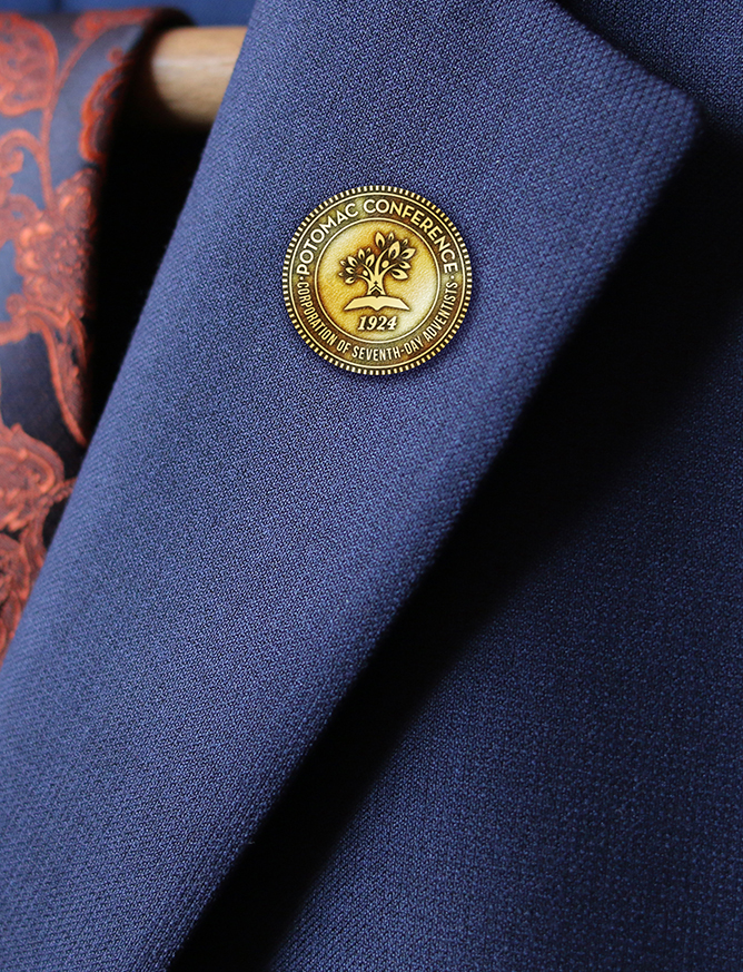 Rebrand | Potomac Conference of Seventh-day Adventists Lapel Pin