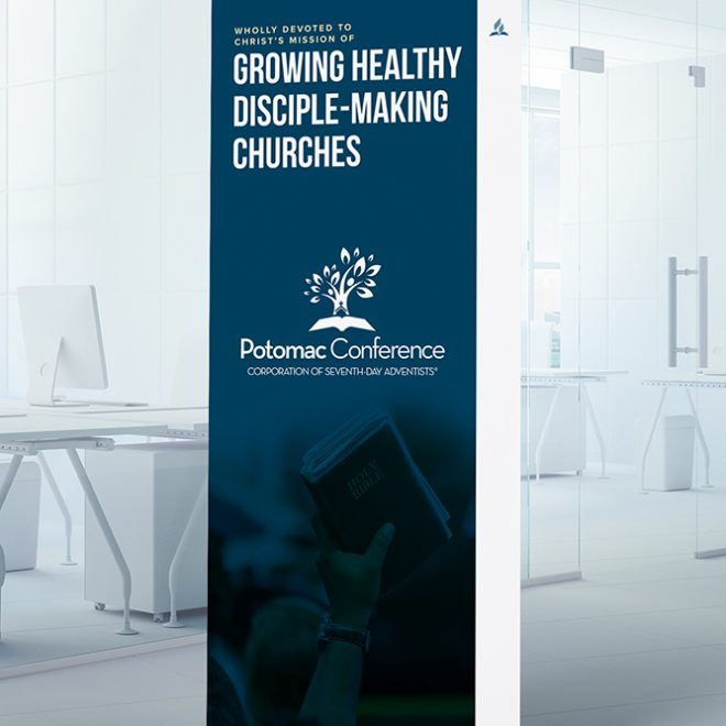 Rebrand | Potomac Conference of Seventh-day Adventists Office Banner