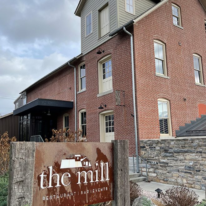 Logo Redesign | The Mill Restaurant | Signage